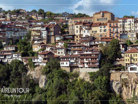La belle Veliko Tarnovo et la picturale forteresse d'Ovetch