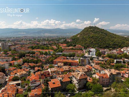 Plovdiv, sa vieille ville et la forteresse d'Assénovgrad