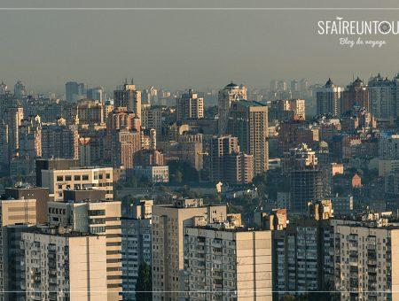 Kiev et ses buildings