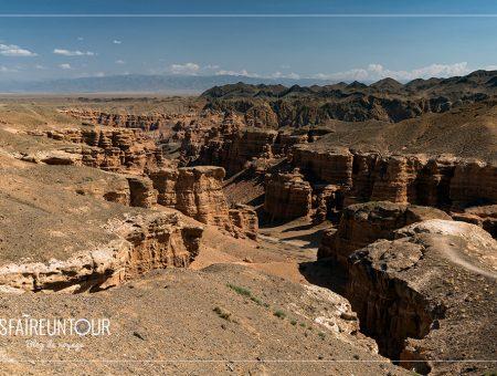 Le canyon de Charyn et la vallée des châteaux