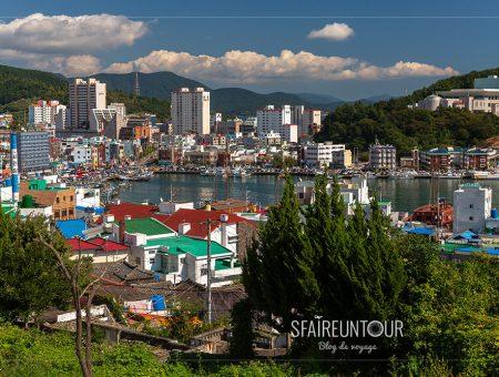Tongyeong, une ville portuaire énergique