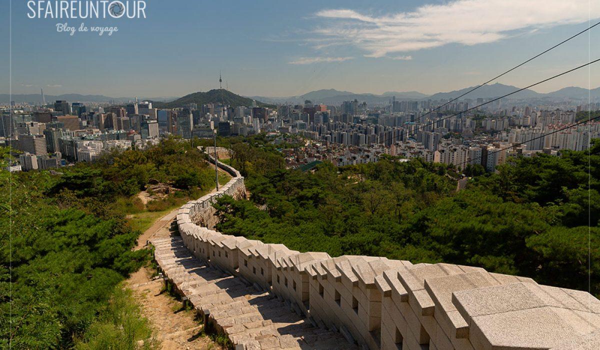 Inwangsan, belle promenade sous haute surveillance
