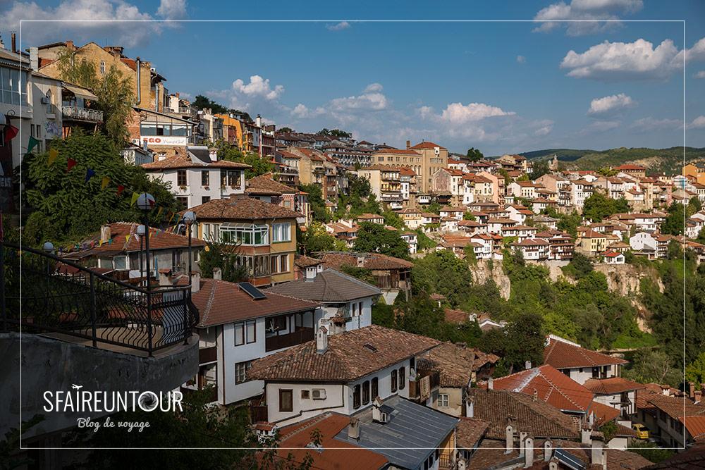 vieille ville de Veliko Tarnovo