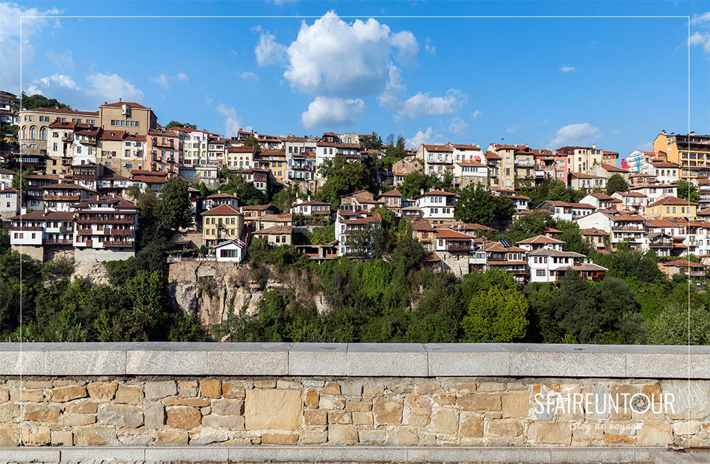 vieille ville Veliko Tarnovo