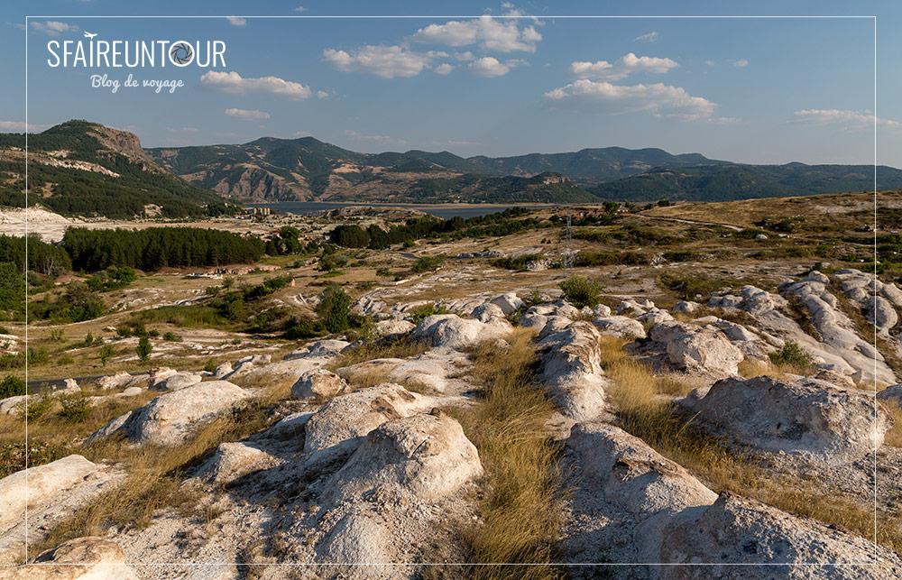 Formations de pierres près de kardjali