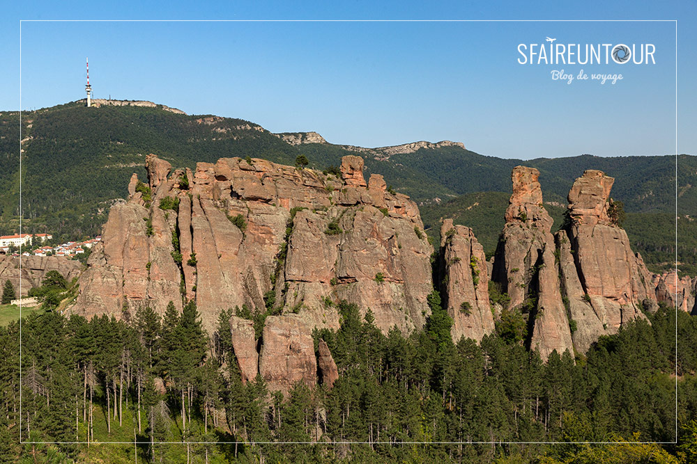 rochers de Belogradtchik versant ouest