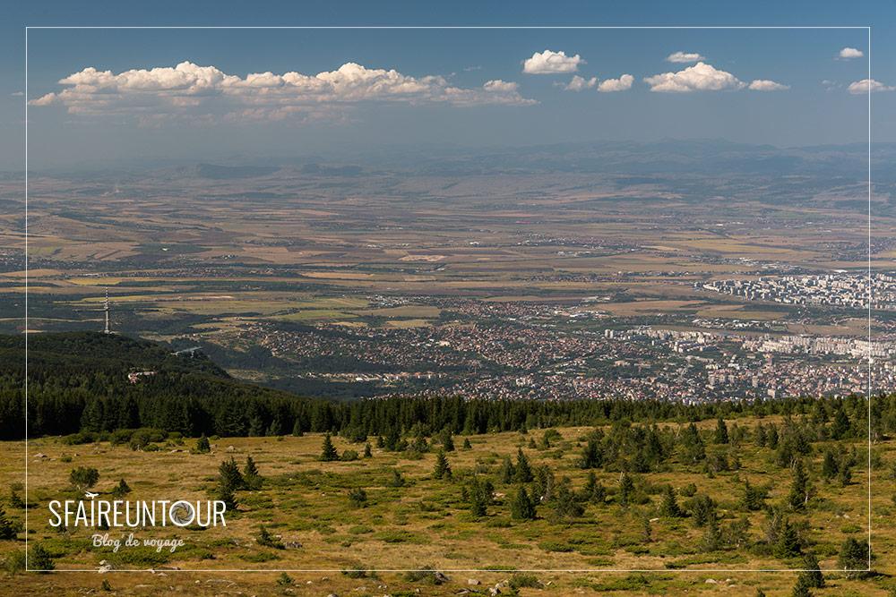 Vue sur Sofia 2