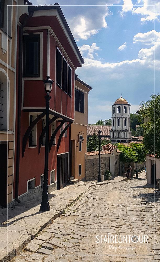 vieille ville de Plovdiv