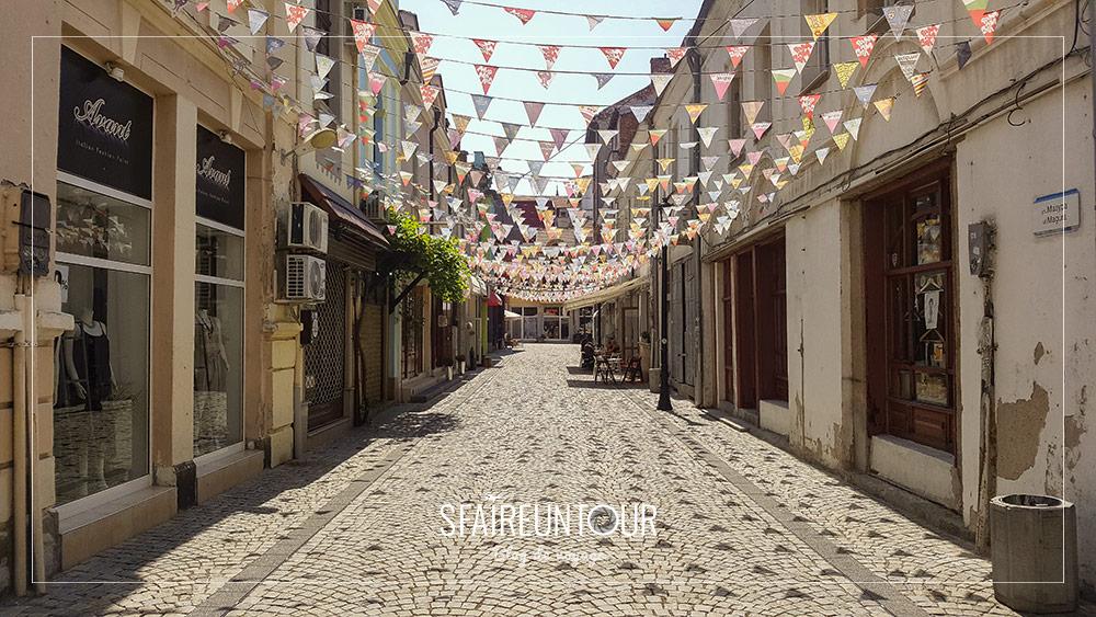 rue de la vieille ville de Plovdiv