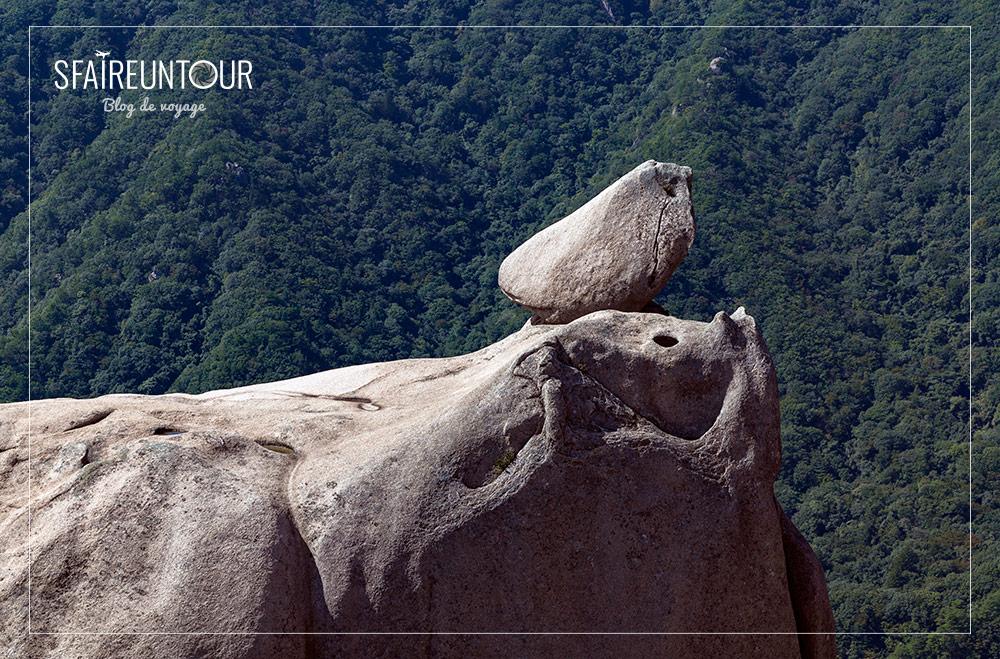 formation de rocher d'Ulsanbawi