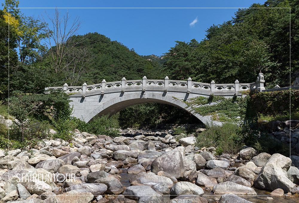 pont dans le Seoraksan