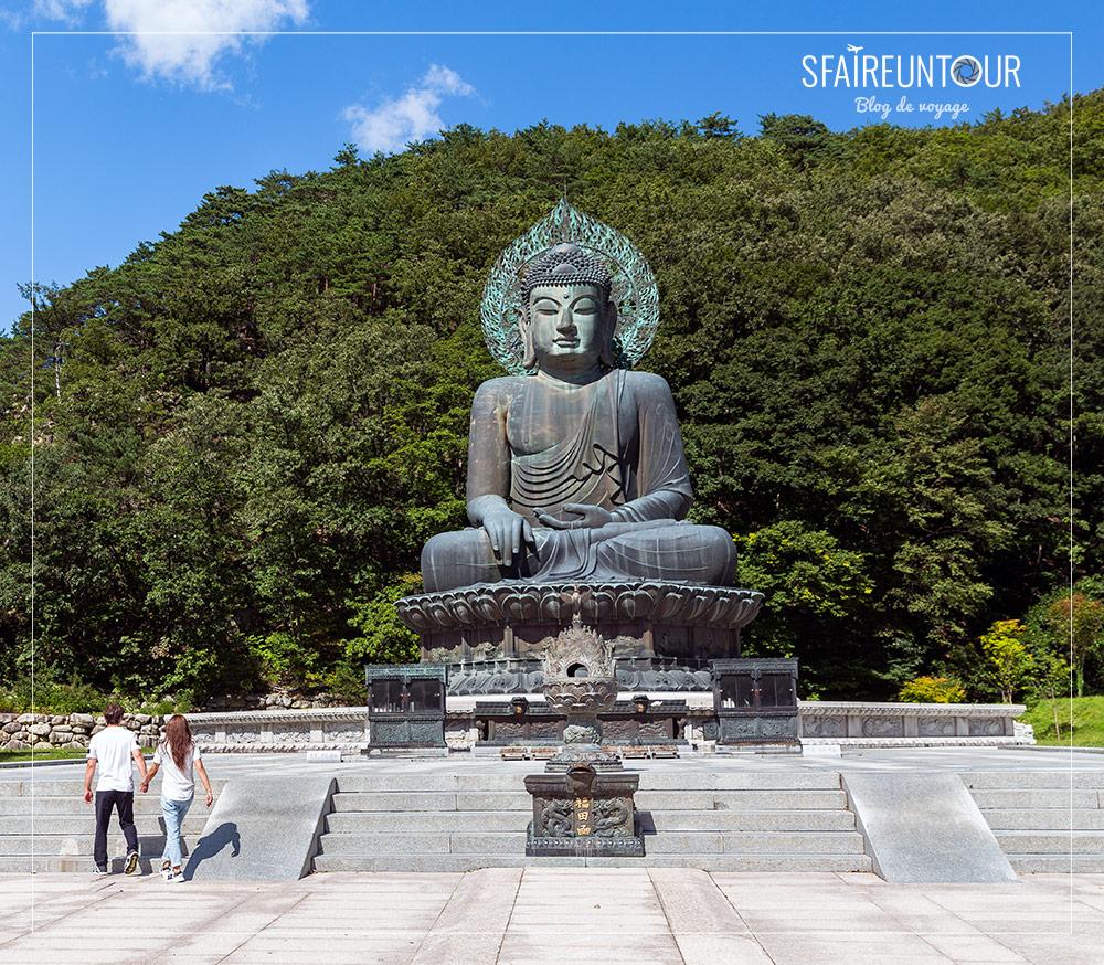 Bouddha du parc seoraksan