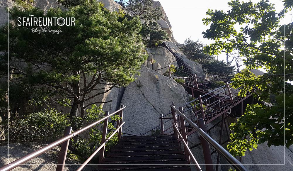 grimpée d'Ulsanbawi