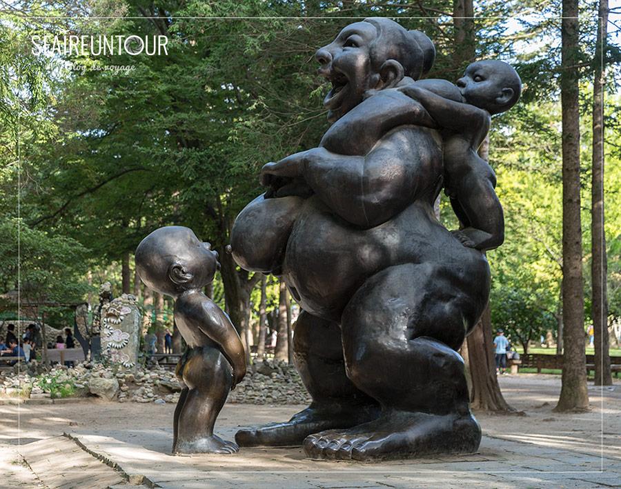 statue du parc de Namisan